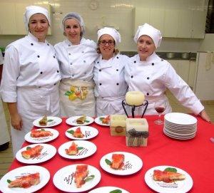 Filomena, Cristiane, Elisa, Sônia (alunas do curso)